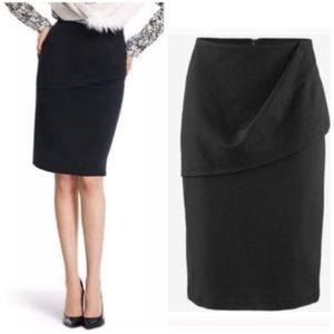 NEW cAbi High-Rise Stretch Overlay Pencil Skirt 4